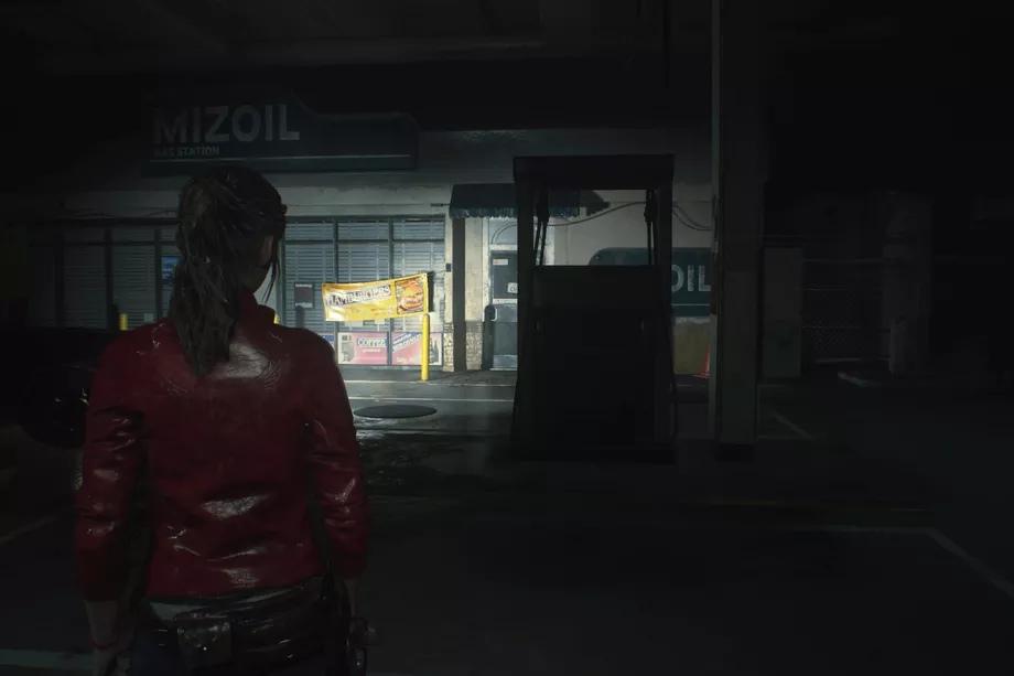 Resident Evil 2 Remake - Прохождение за Клэр. Часть 1: АЗС и улицы Ракун-Сити