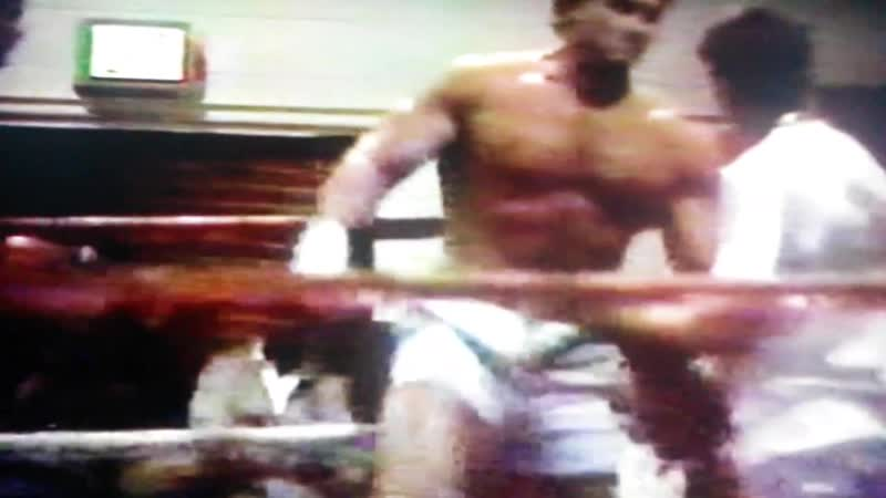 Lake Norman Muay Thai- Ken Shamrock amateur fight video.
