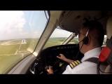 Сложные посадки глазами пилотов _ cockpit view