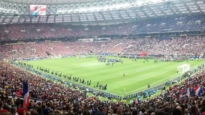 Финал ЧМ 2018 Церемония награждения Франция и Хорватия