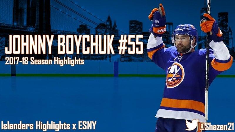 Johnny Boychuk 2017-18 Season Highlights