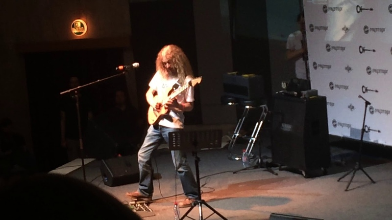 Guthrie Govan Bad Asteroid Moscow The Central House of Artists 16 June 2018