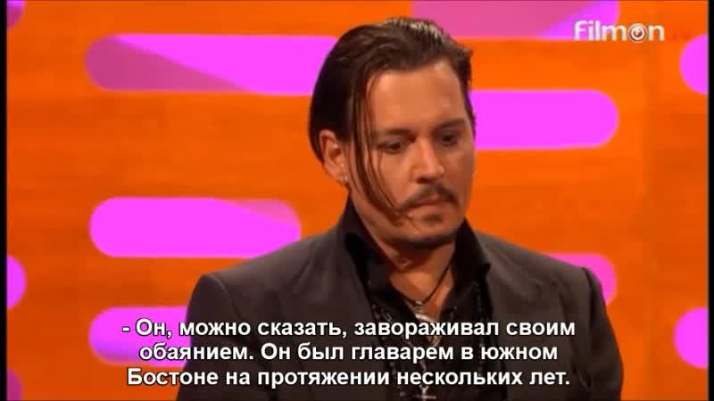 The Graham Norton Show - Benedict Cumberbatch Johnny Depp (RusSub)