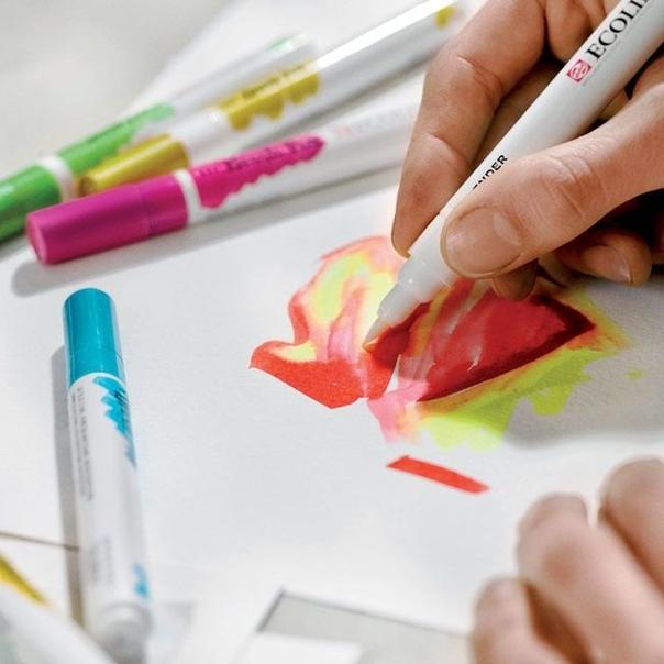 Что такое маркеры и их виды. Для чего нужны маркеры и paint marker