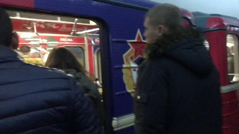Подстава Коней после матча Спартак Арсенал
