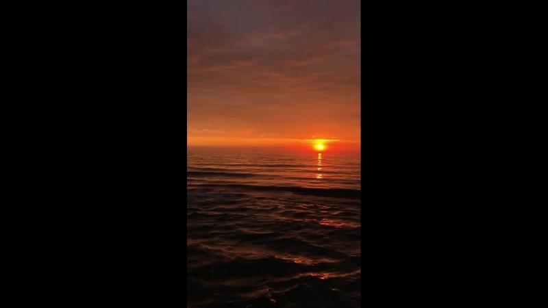 Безумно красивый закат в Сочи 8 июля 20 00