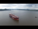 В Славянку пришёл крупный танкер Solana