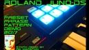 Roland Juno-DS 2017 Preset Phrase Pattern Demo Sequencer Synthesizer Rik Marston DS61