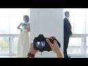Свадебная съемка в студии (backstage)