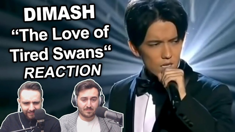 Dimash Kudaibergen The Love of Tired Swans Singers Reaction
