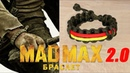 Браслет из паракорда MadMax 2 0 Mad Max paracord bracelet modified