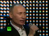Singing PM Fats Putin over the top of Blueberry Hill with piano solo