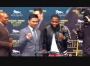 Manny Pacquiao - Adrien Broner Face Off