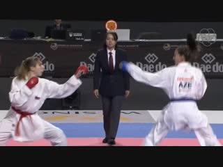 ЧМ 2018. Финал до 68 кг: Виктория Исаева (Россия) - Ирина Зарецкая (Азербайджан).