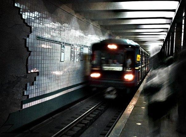 Я очень любил ездить в метро