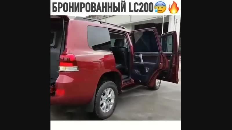 Бронированный Toyota Land Cruiser 200