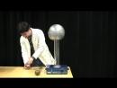 Конфети и генератор Ван де Граафа MIT Physics Demo Confetti and the Van de Graaff Generator