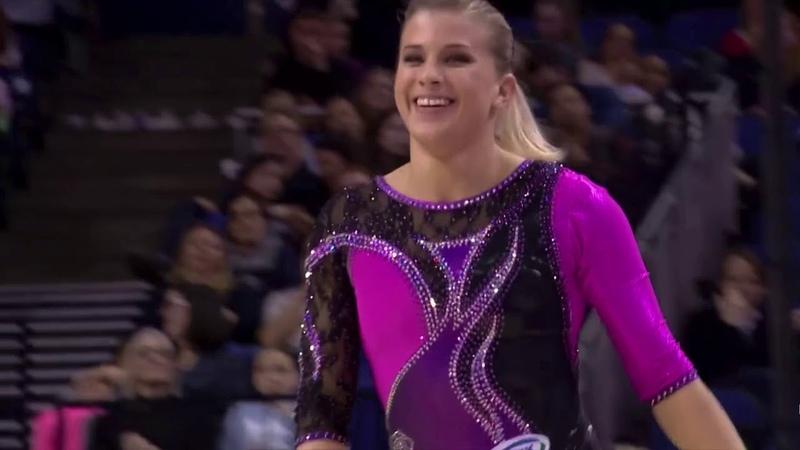 Elizabeth Seitz Superstars of Gymnastics 2019 Balance Beam