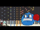 Cuphead - Ruse Of An Ooze - Piano Remix - Cover Tutorial