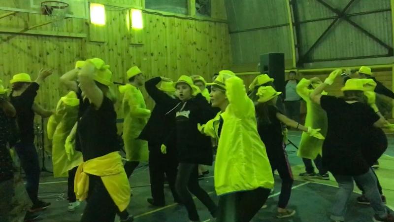 Представление команд. Жёлтые. ХЦВ кэмп