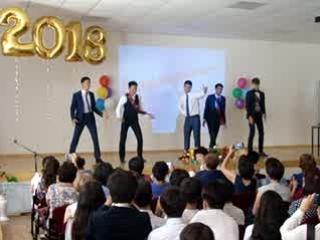 """Танец от выпускников! """"КАПУСТНИК"""" в Ики-Бурульской школе. 24 мая"""