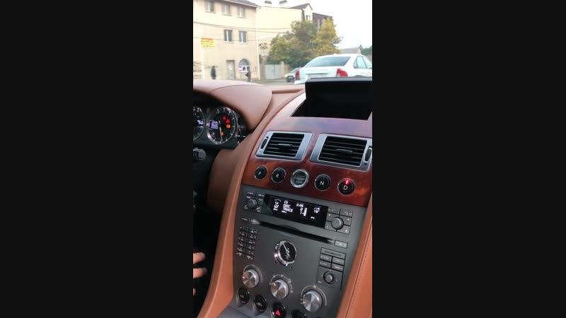 Тест-драйв Aston Martin DB9
