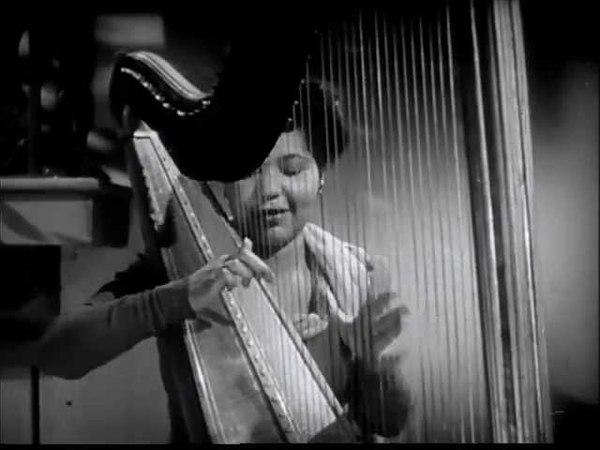 LaVilla Tulos (jazz harpist) - Swanee River (1940s)