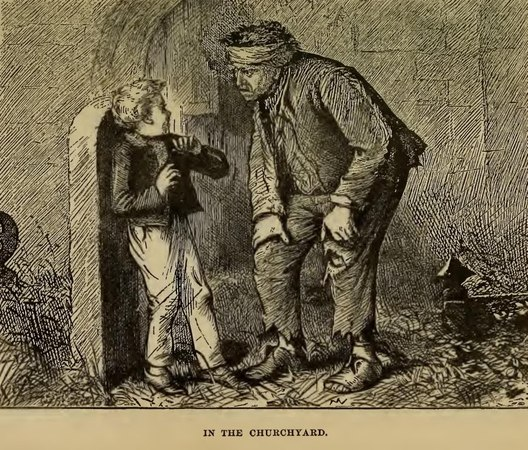 an analysis of the examples of imprisonment in great expectations by charles dickens Charles dickens wrote his enduringly popular novel, great expectations, between december 1860 and september 1861 as was usual for this most in fact, the true gentleman of the book is joe, as pip ultimately realises in great expectations, dickens is attempting to write both a mystery story.