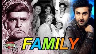 Prithviraj Kapoor family With Wife, Sons, Daughter and GrandChidren