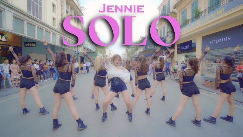 KPOP IN PUBLIC Jennie 'SOLO' DANCE COVER by BLACKCHUCK from Vietnam