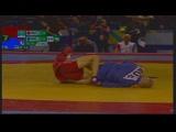 Финал 52кг: Андрей Кубарьков— Абу Аманжан (Международный турнир посамбо напризы президента Беларуси, 23февраля 2019года)