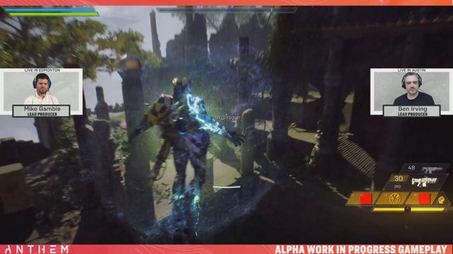 Anthem Developer Livestream featuring Lead Producers, Ben Irving and Mike Gamble. - AnthemGame