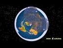 Вращение звёзд в разных полушариях. Северная Полярная и Сигма Октанта.