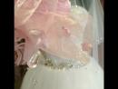 Камни бисер шелк нежно розовый