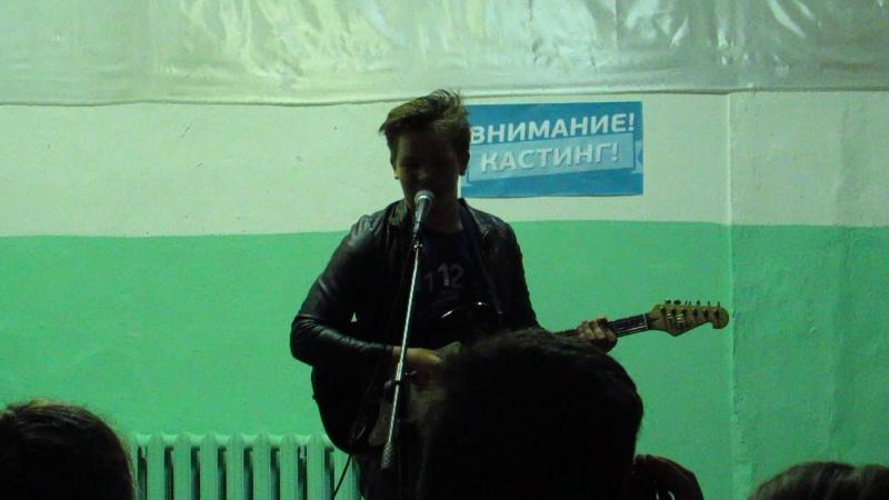 Аверин М. выступление на спектакле