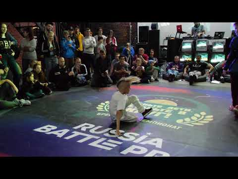 Breakdance kids 1 2 final bboy Lion Star vs Pauk ВДВ круг Russia Battle Pro 2018