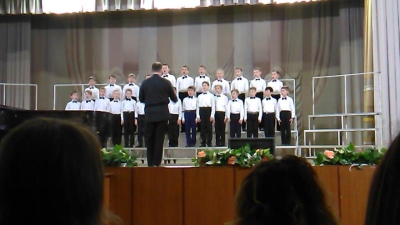 Поздравляем капеллу мальчиков с первым местом на областном конкурсе хоров