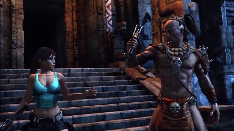 Первый трейлер игры Lara Croft and the Guardian of Light