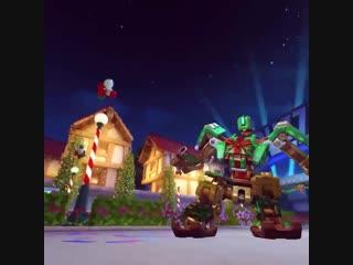 Keep your eyes on this prize. - - unwrap gift wrap bastion epic. - - winter wonderland beg