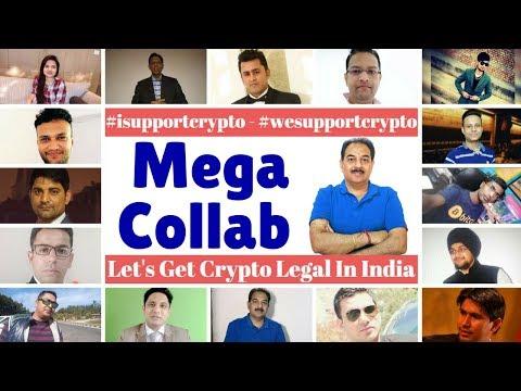 Mega collab Live Now We Support Crypto ! आगए सब लोग RBI के निर्णय के खिलाफ,आप भ