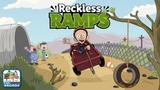 Clarence Reckless Ramps - Sumo is Involved in Some Serious Downhill Action (Cartoon Network Games)