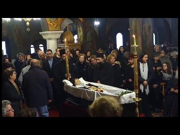 Minunea la înmormântării arhimandritului Necktarie Vitalis