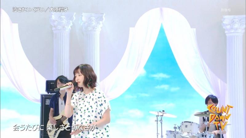 (Live) Sakurako Ohara - Nakitai Kurai (CDTV 2018.05.06)