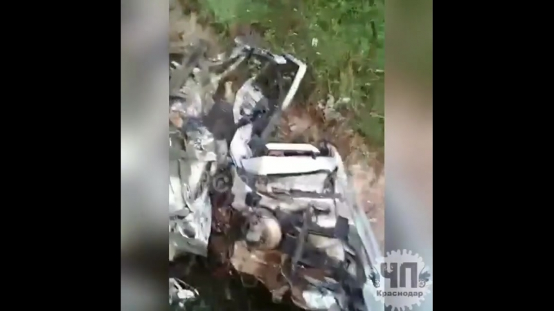 В районе п.Горный в ДТП на встречной погиб водитель автомобиля ВАЗ.