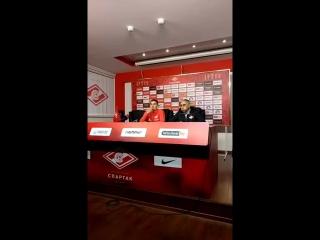 Пресс-конференция Романа Зобнина перед матчем с «Уралом»