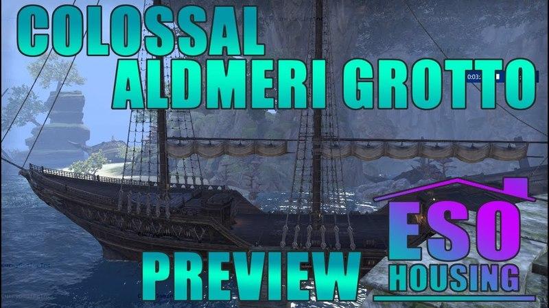 ESO Summerset Colossal Aldmeri Grotto Preview