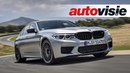 BMW M5 Competition 2018 Test Autovisie Vlog