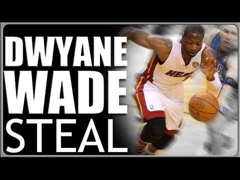 Dwyane Wade Steal Technique Basketball Moves