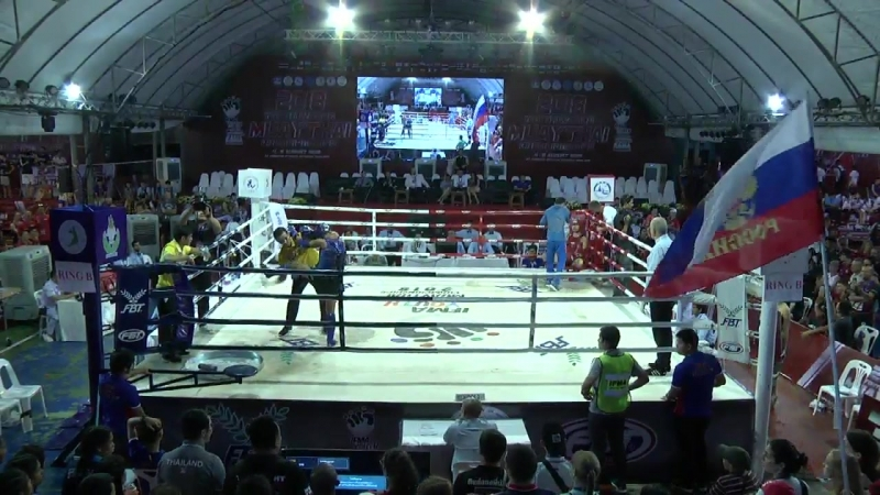 Youth World Muaythai Championships 2018_Day 4_Ring B