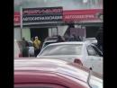 В Улан-Удэ произошёл пожар на авторынке на Приречной